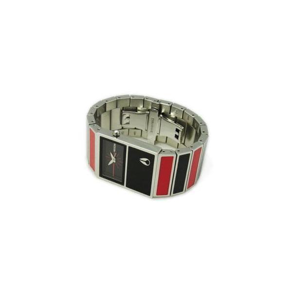 NIXON ニクソン レディース腕時計 THE CHALET シャーレ ブラック×レッド レディースウォッチ 女性用 A575008 A575-008 S|39surprise|02