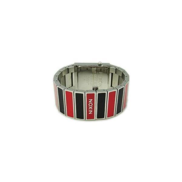 NIXON ニクソン レディース腕時計 THE CHALET シャーレ ブラック×レッド レディースウォッチ 女性用 A575008 A575-008 S|39surprise|03