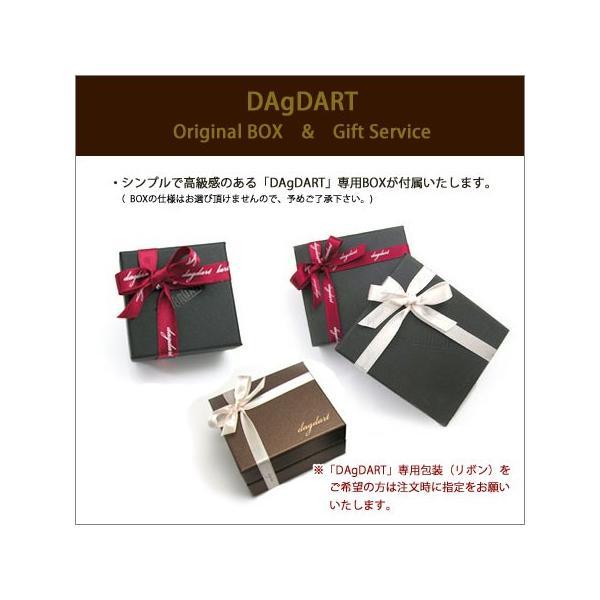 DAgDART ダグダート 誕生石セットOK!ペアブレスレット 2重巻きレザーブレスレット シルバー DB-126-127
