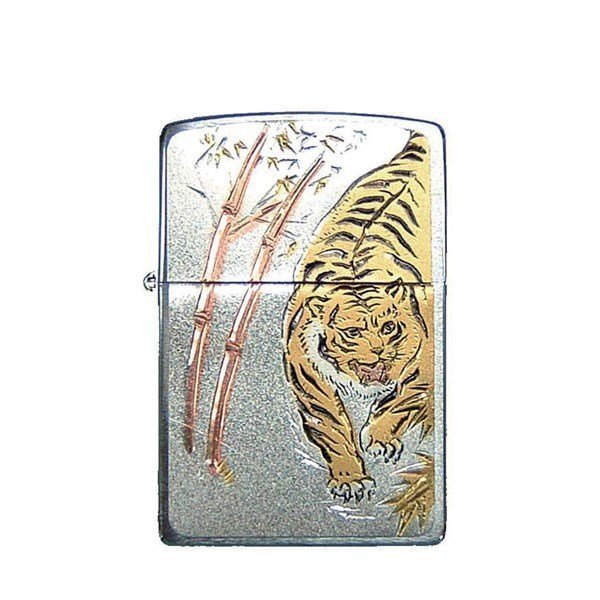 ZIPPO ジッポライター ジッポー 電鋳板 虎 デンチュウバン タイガー DENCHUBAN-TIGER