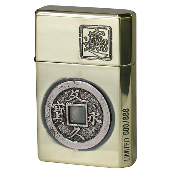 GEAR TOP ギアトップ オイルライター 古銭 文久永宝 (文久永寳) 限定888個 GT2-008