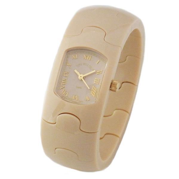 Time Will Tell タイムウィルテル(タイムウイルテル) 腕時計 HAMPTON ハンプトンシリーズ ブレスウオッチ アイボリー系 ヌード HAMPTON-NU|39surprise