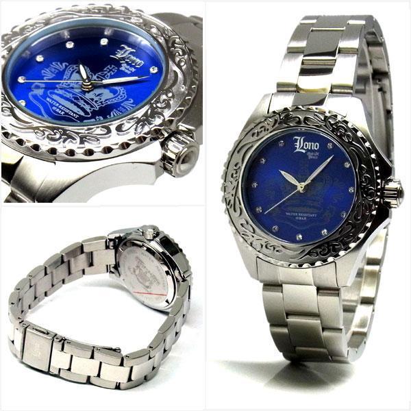 LONO ロノ ハワイアンジュエリー レディース 10気圧 ダイバーウォッチ 腕時計 LGA130404|39surprise|02