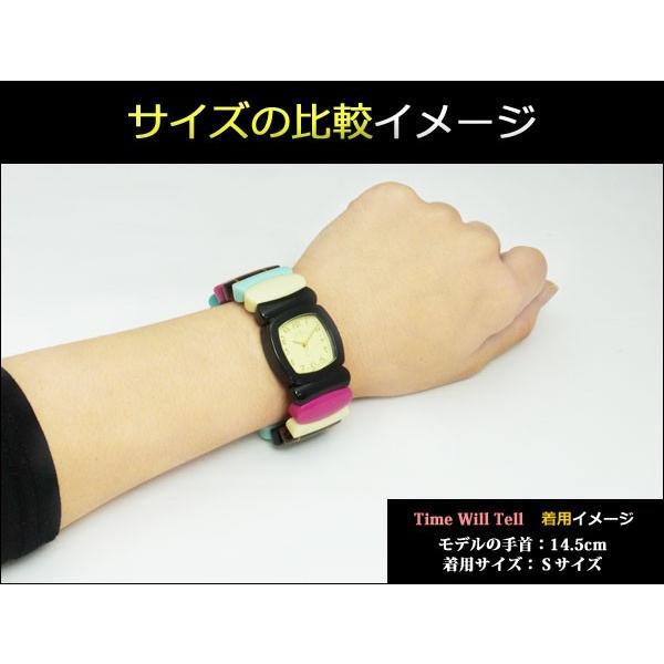 Time Will Tell トータス 母の日 トートイズ MULTI-TORA (べっ甲) Multi Colors マルチ タイムウイルテル 腕時計 お返し タイムウィルテル