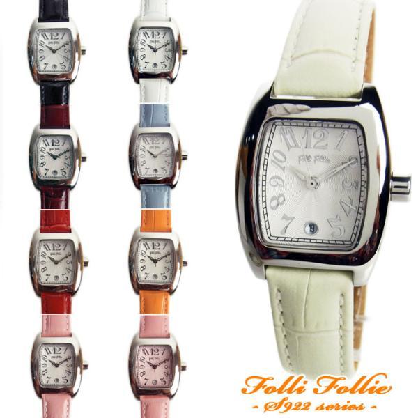 b14d19b693 フォリフォリ 腕時計 レディース Folli Follie レザーベルト S922 ...