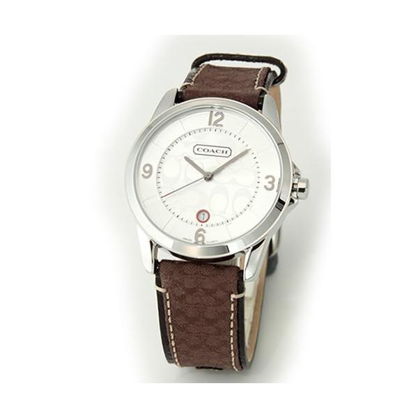 2aae1fdc3461 コーチ 腕時計 メンズ COACH クラシック シグネチャー レザーベルト 14601089|39surprise ...