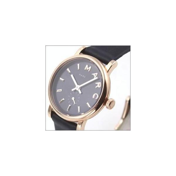 a707b24f2b49 ... MARC BY MARC JACOBS マークバイマークジェイコブス レディース腕時計 Baker mini ベイカー ミニ ブラックブルー  レザー ...