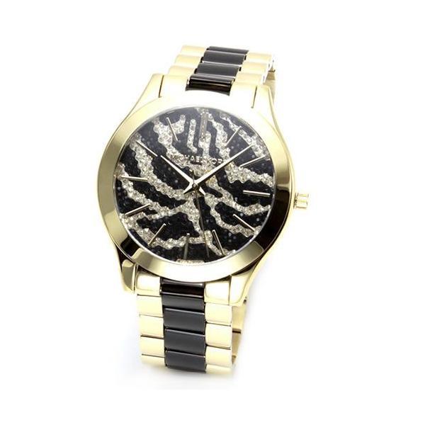 0c8a099ceae2 マイケルコース 腕時計 レディース MICHAEL KORS アニマルモチーフ パヴェストーン ブレスウオッチ MK3315|39surprise  ...