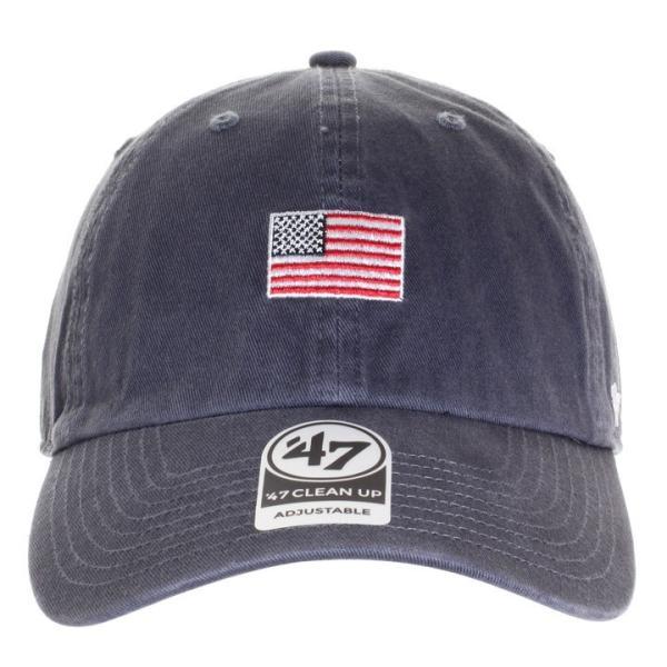 47BRAND フォーティーセブンブランド キャップ メンズ USA FLAG BASE RUNNER '47 CLEAN UP BSRNR198GWS 2018秋冬 ネイビー ワンサイズ 3direct 02