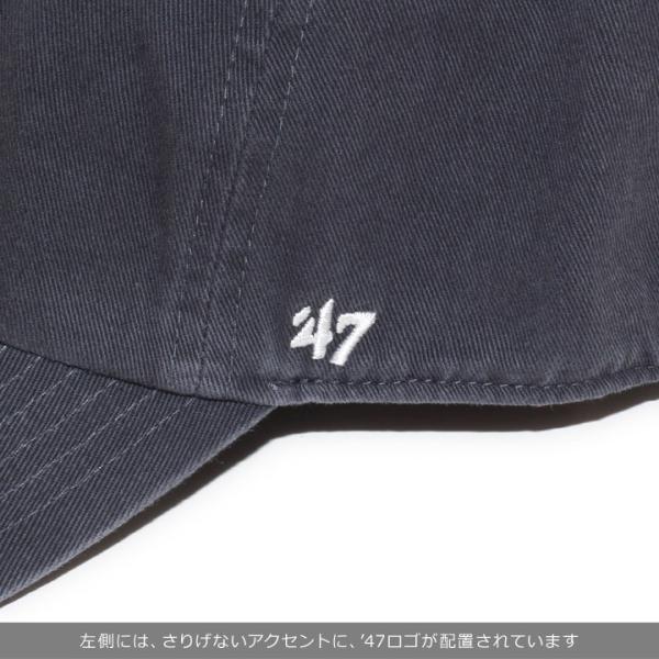 47BRAND フォーティーセブンブランド キャップ メンズ USA FLAG BASE RUNNER '47 CLEAN UP BSRNR198GWS 2018秋冬 ネイビー ワンサイズ 3direct 07