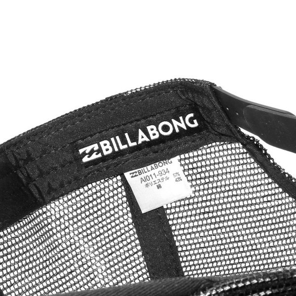 BILLABONG キャップ メンズ LOGO CAP AI011-934 2018春 ブラック/ブルー/ホワイト フリーサイズ|3direct|08