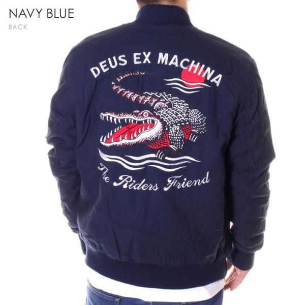 DEUS EX MACHINA デウスエクスマキナ ボンバージャケット メンズ ELIAS CROC BOMBER DMF86532|3direct|03