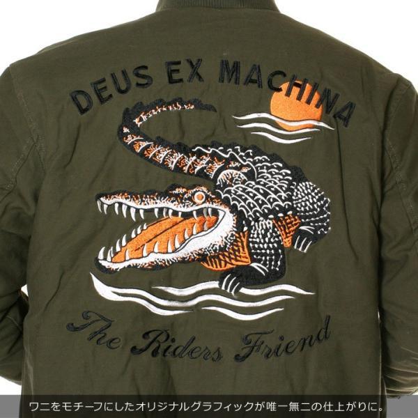 DEUS EX MACHINA デウスエクスマキナ ボンバージャケット メンズ ELIAS CROC BOMBER DMF86532|3direct|08