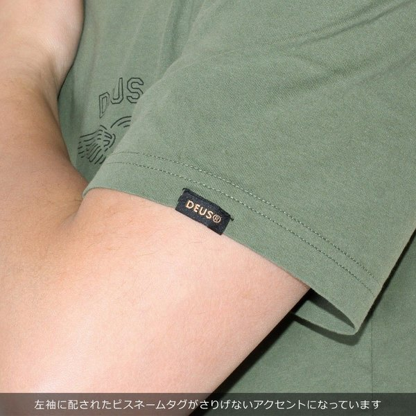 DEUS EX MACHINA デウスエクスマキナ Tシャツ メンズ WANDERER TEE JMS81656B 2019春夏|3direct|08
