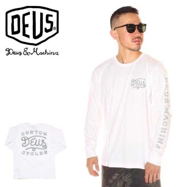 DEUS EX MACHINA デウスエクスマキナ Tシャツ ロンT メンズ ROPED IN LS TEE 2019春夏|3direct