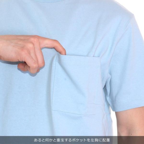 GOODWEAR Tシャツ メンズ USAコットン無地ポケットT 2W7-2500 2019春夏|3direct|12