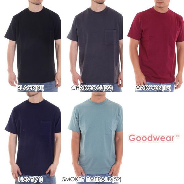 GOODWEAR Tシャツ メンズ USAコットン無地ポケットT 2W7-2500 2019春夏|3direct|16