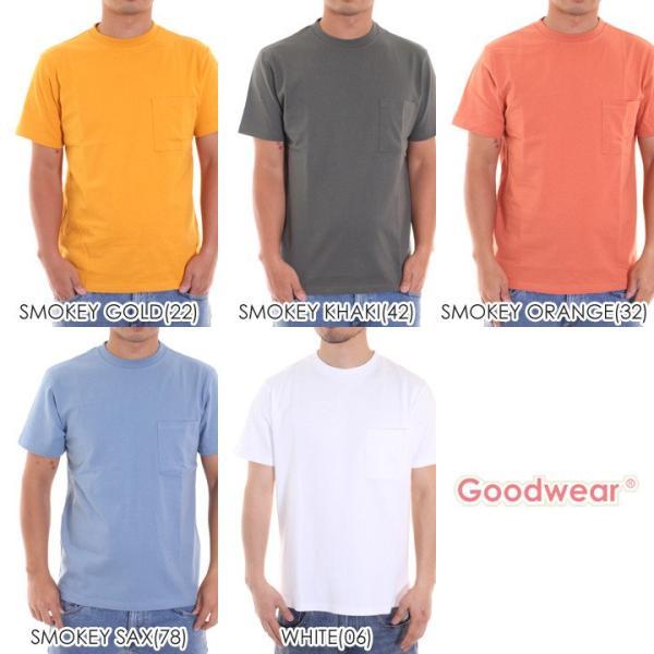 GOODWEAR Tシャツ メンズ USAコットン無地ポケットT 2W7-2500 2019春夏|3direct|17