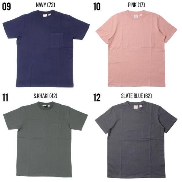 GOODWEAR Tシャツ メンズ USAコットン無地ポケットT 2W7-2500 2019春夏|3direct|06
