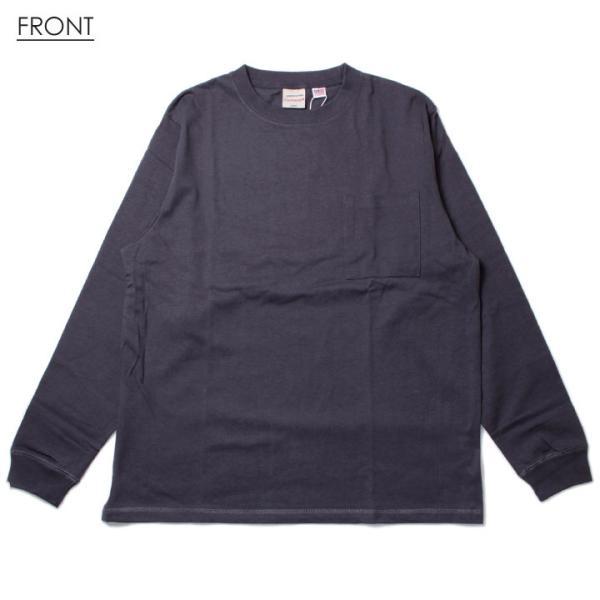 GOODWEAR グッドウェア Tシャツ ロンT メンズ USAコットン袖リブポケットロンT 2W7-8518|3direct|02
