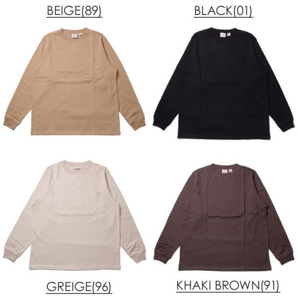 GOODWEAR グッドウェア Tシャツ ロンT メンズ USAコットン袖リブポケットロンT 2W7-8518|3direct|04