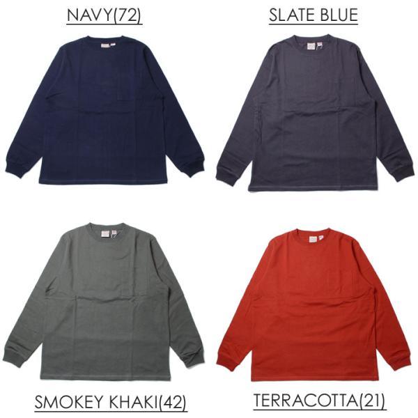 GOODWEAR グッドウェア Tシャツ ロンT メンズ USAコットン袖リブポケットロンT 2W7-8518|3direct|05