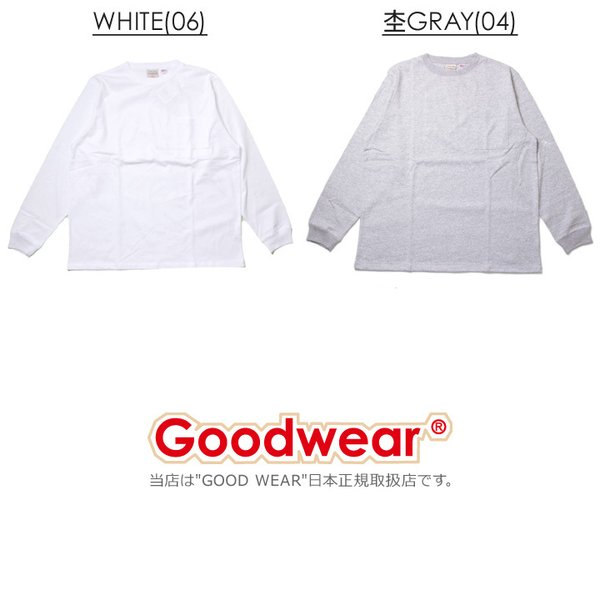 GOODWEAR グッドウェア Tシャツ ロンT メンズ USAコットン袖リブポケットロンT 2W7-8518|3direct|06