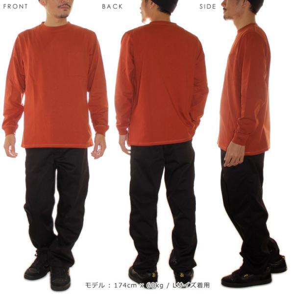 GOODWEAR グッドウェア Tシャツ ロンT メンズ USAコットン袖リブポケットロンT 2W7-8518|3direct|08