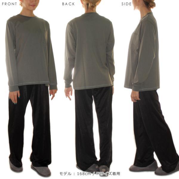 GOODWEAR グッドウェア Tシャツ ロンT メンズ USAコットン袖リブポケットロンT 2W7-8518|3direct|09