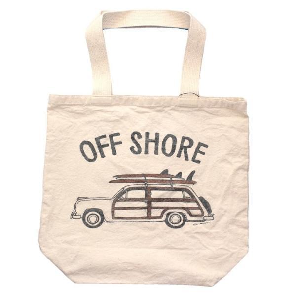 OFFSHORE トートバッグ TOTE BAG GO SURF OS18-2AC-S05 2018夏 ナチュラル ワンサイズ|3direct|02