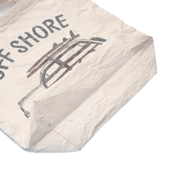 OFFSHORE トートバッグ TOTE BAG GO SURF OS18-2AC-S05 2018夏 ナチュラル ワンサイズ|3direct|07