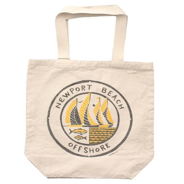 OFFSHORE トートバッグ TOTE BAG NEWPORT BEACH OS18-2AC-S06 2018夏 ナチュラル ワンサイズ|3direct|02
