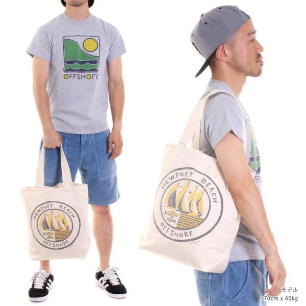 OFFSHORE トートバッグ TOTE BAG NEWPORT BEACH OS18-2AC-S06 2018夏 ナチュラル ワンサイズ|3direct|05