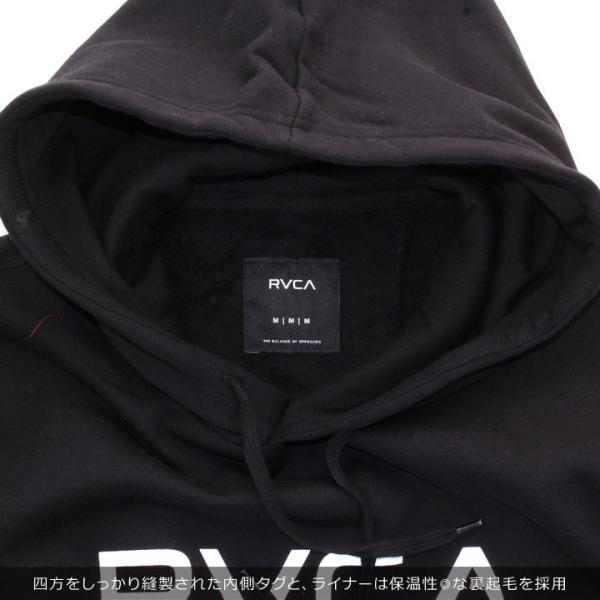 RVCA ルーカ パーカー メンズ BIG RVCA PULL AI042-014 2018秋冬 ブラック/ブルー/カモフラージュ/パープル/グレー/イエロー S/M/L|3direct|12