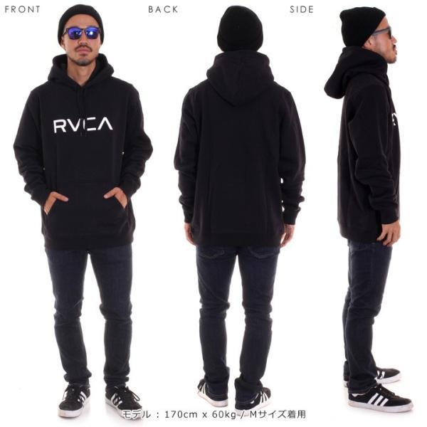 RVCA ルーカ パーカー メンズ BIG RVCA PULL AI042-014 2018秋冬 ブラック/ブルー/カモフラージュ/パープル/グレー/イエロー S/M/L|3direct|14