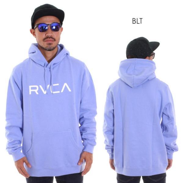 RVCA ルーカ パーカー メンズ BIG RVCA PULL AI042-014 2018秋冬 ブラック/ブルー/カモフラージュ/パープル/グレー/イエロー S/M/L|3direct|03
