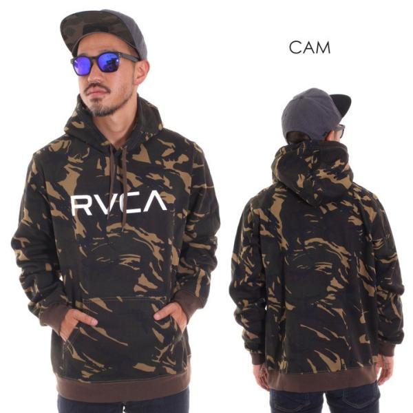 RVCA ルーカ パーカー メンズ BIG RVCA PULL AI042-014 2018秋冬 ブラック/ブルー/カモフラージュ/パープル/グレー/イエロー S/M/L|3direct|04