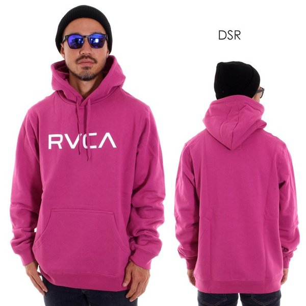RVCA ルーカ パーカー メンズ BIG RVCA PULL AI042-014 2018秋冬 ブラック/ブルー/カモフラージュ/パープル/グレー/イエロー S/M/L|3direct|05
