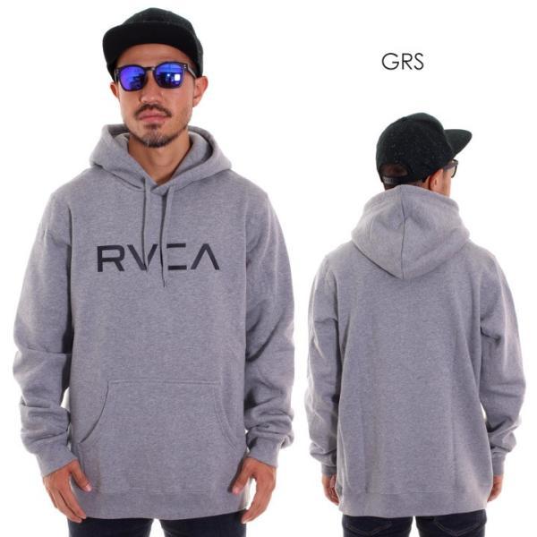 RVCA ルーカ パーカー メンズ BIG RVCA PULL AI042-014 2018秋冬 ブラック/ブルー/カモフラージュ/パープル/グレー/イエロー S/M/L|3direct|06