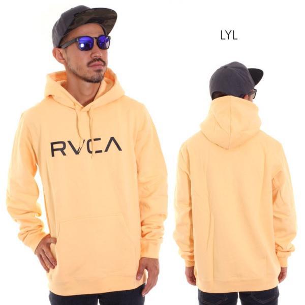 RVCA ルーカ パーカー メンズ BIG RVCA PULL AI042-014 2018秋冬 ブラック/ブルー/カモフラージュ/パープル/グレー/イエロー S/M/L|3direct|07