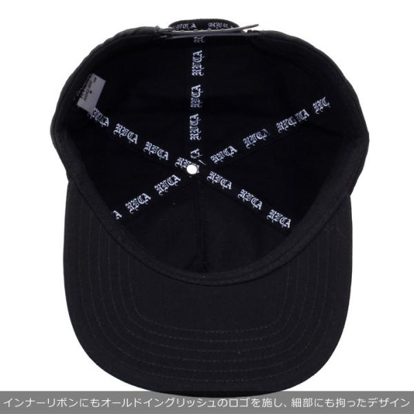 RVCA ルーカ キャップ メンズ RVCA PACK AI042-900 2018秋冬 ブラック ワンサイズ|3direct|07