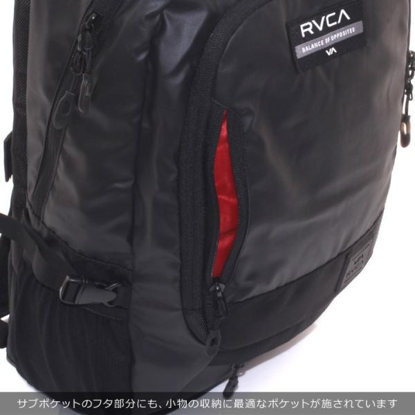 RVCA ルーカ リュック メンズ RADAR BACKPACK AI042-950 2018秋冬 ブラック 21L|3direct|11