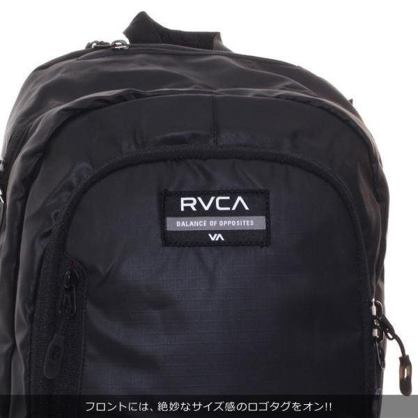 RVCA ルーカ リュック メンズ RADAR BACKPACK AI042-950 2018秋冬 ブラック 21L|3direct|08
