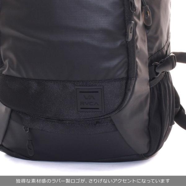 RVCA ルーカ リュック メンズ RADAR BACKPACK AI042-950 2018秋冬 ブラック 21L|3direct|09