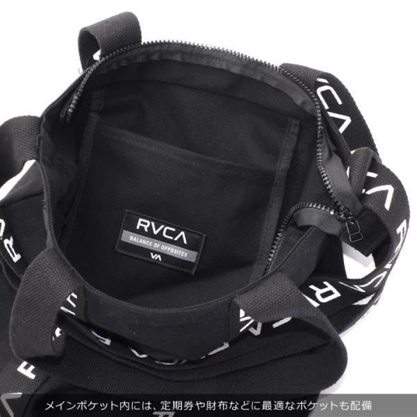 RVCA ルーカ ショルダーバッグ メンズ RVCA TOTE AI042-M92 2018秋冬 ホワイト/ブラック 19L 3direct 11