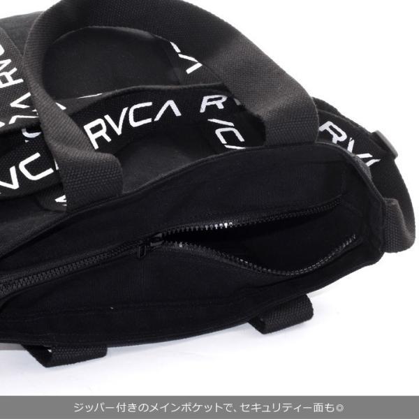 RVCA ルーカ ショルダーバッグ メンズ RVCA TOTE AI042-M92 2018秋冬 ホワイト/ブラック 19L 3direct 10