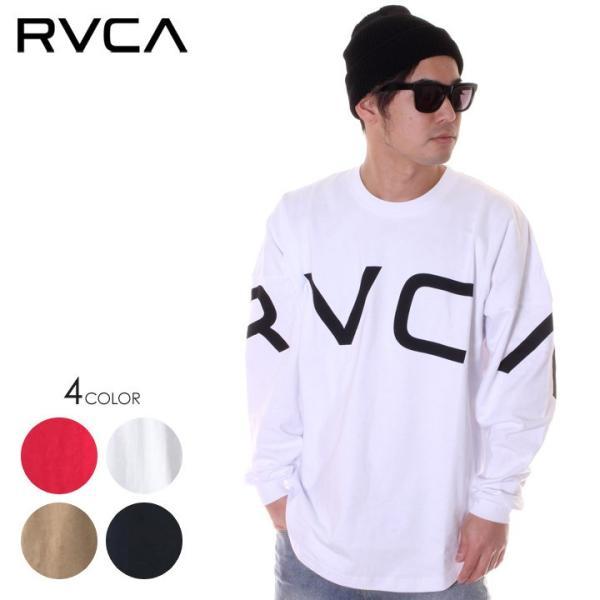 RVCA ルーカ ロンT メンズ FAKE RVCA L/S AJ041-063 2018秋冬|3direct