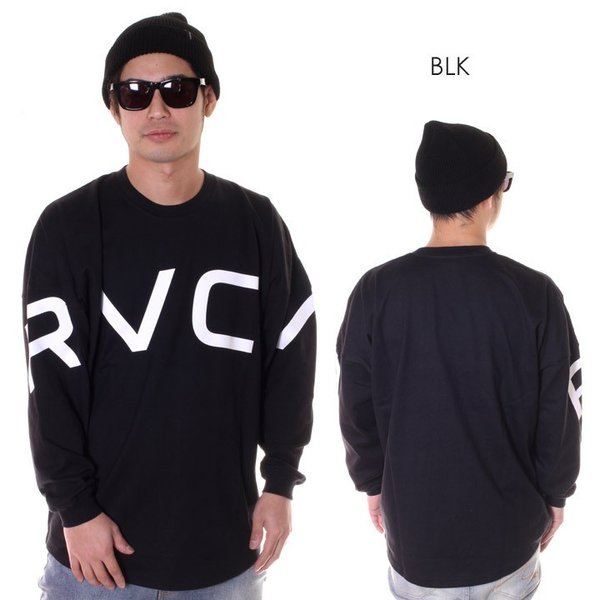 RVCA ルーカ ロンT メンズ FAKE RVCA L/S AJ041-063 2018秋冬|3direct|03