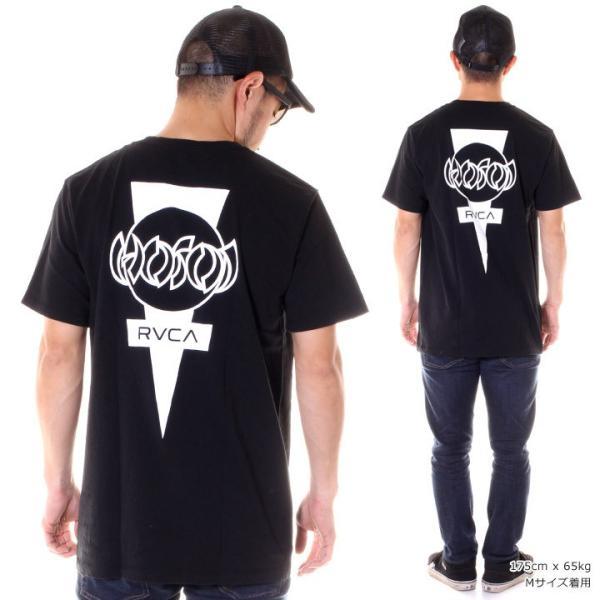 RVCA ルーカ Tシャツ メンズ HOSOI DAYSHIFT AJ041-208|3direct|04