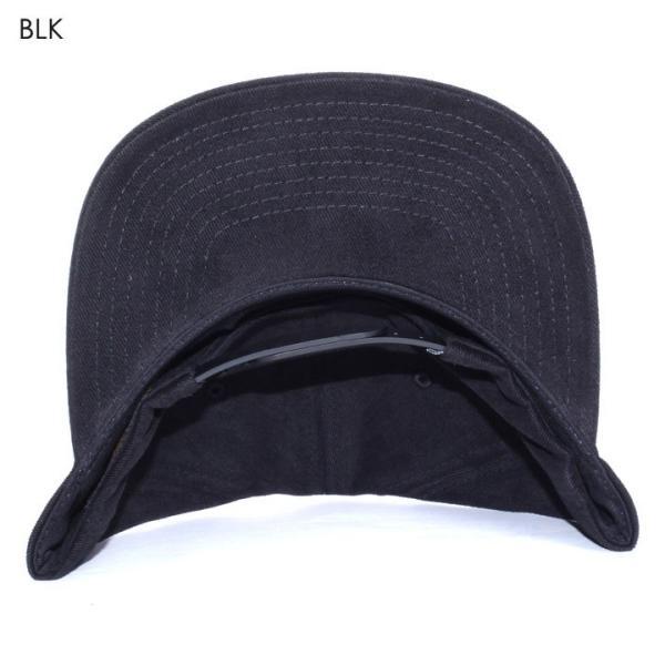 RVCA キャップ メンズ NEO PATCH SNAPBACK AI041-929 2018春夏 ブラック/グレー ワンサイズ|3direct|05